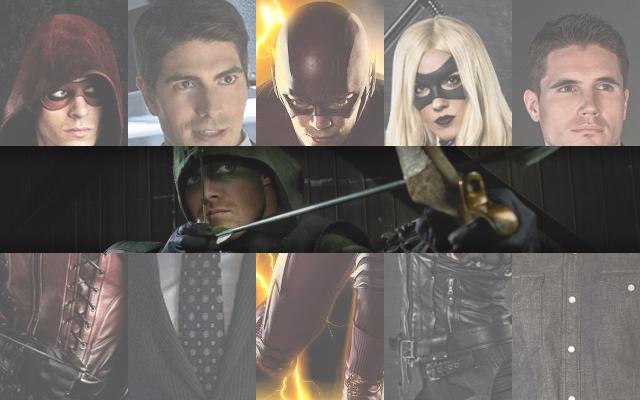 Arrowverse heroes.